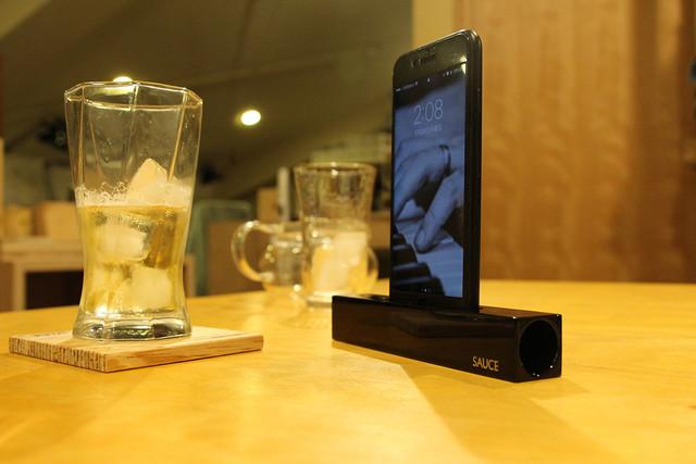 iPhoneで音を楽しむ!日本の技術が詰まった木製無電源スピーカー!