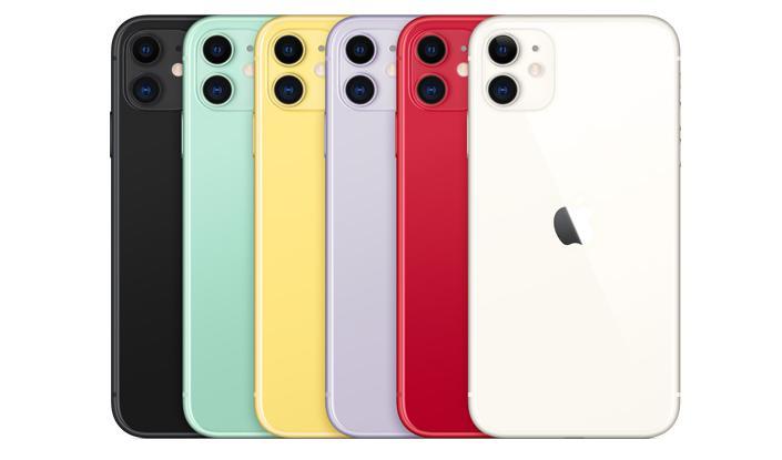 iPhone 11のカラー