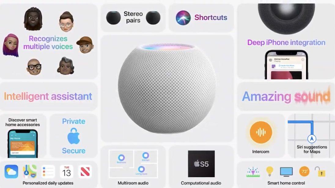 新型HomePod miniとHomePodを徹底比較!価格や機能、買うならどちらがおすすめ?