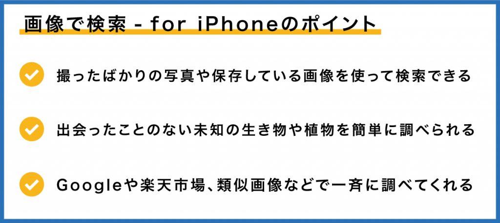 iPhoneで画像検索|意外と知らない便利な使い方とは